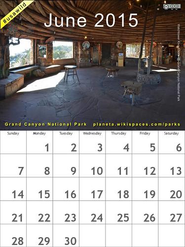 June 2015: Grand Canyon Watchtower Kiva Room @GrandCanyonNPS @NatlParkService  #usawild #findyourpark (attribution-sharealike license)
