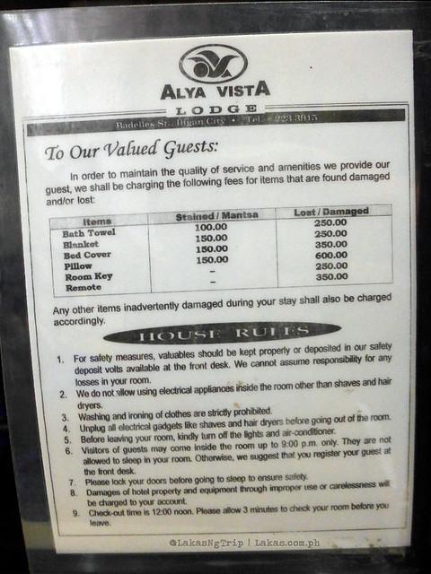 Alya Vista Lodge in Iligan City, Philippines