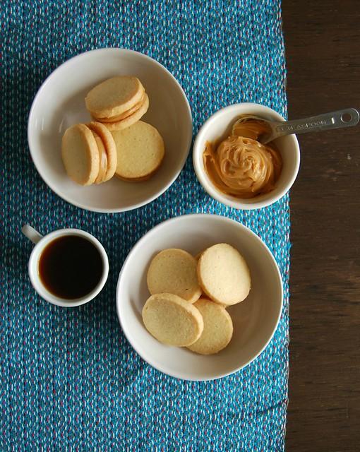 Almond sablés / Sablés de amêndoa