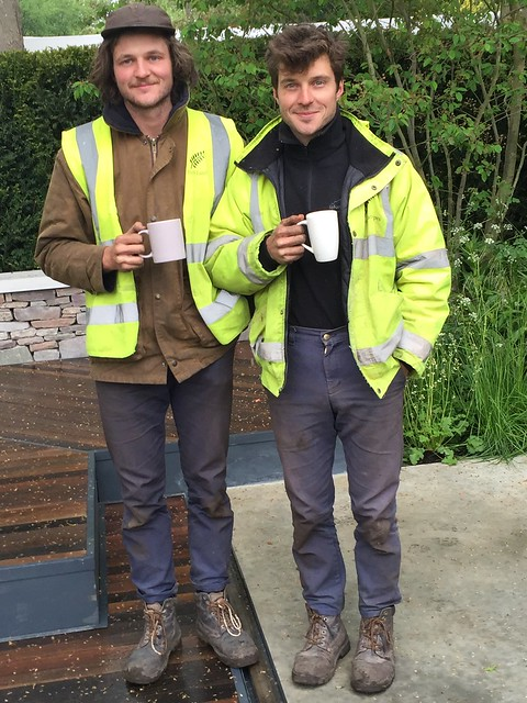 Chelsea flower show 2015 the rich brothers cloudy bay The rich brothers gardeners
