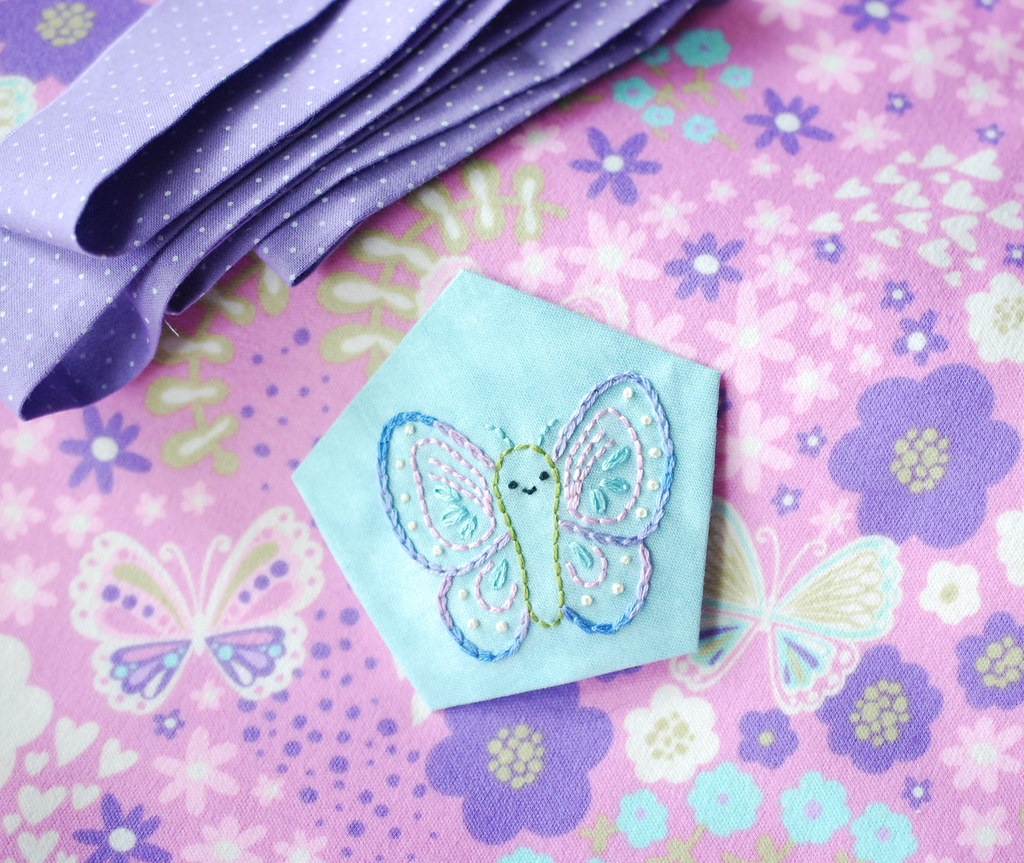 Butterfly Blanket...eventually!