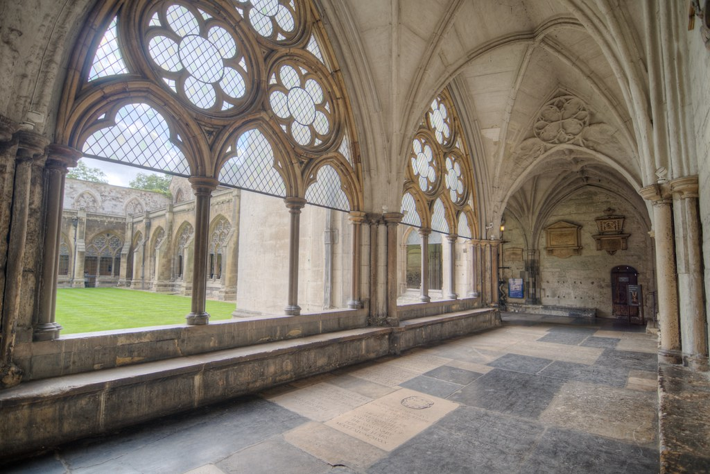 North Cloister of Westminster Abbey