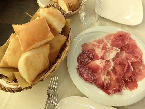 Fried Bread and Cured Meats