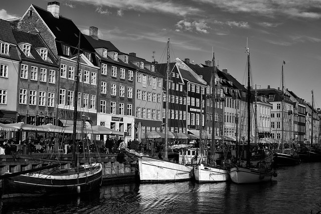 Copenhagen in Black and White