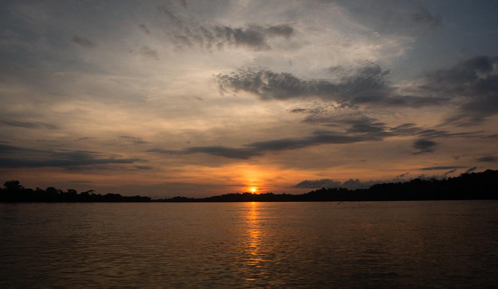 Sunrise on Rio Napo