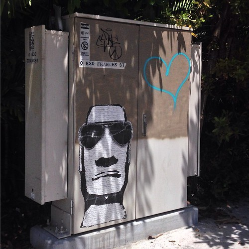 #streetart #graffiti #keywest #florida #wheatpaste