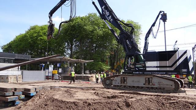 Harderwijk, station verbouwing