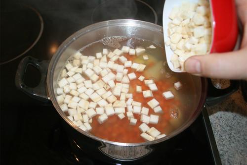 22 - Kartoffeln, Möhren & Sellerie kochen / Cook poatoes, carrots & celeriac