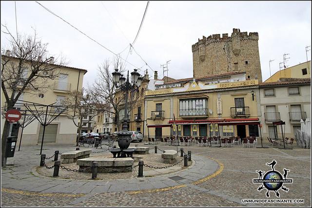 Plaza de la Picota de Coria, Cáceres, Extremadura. España. Spain.