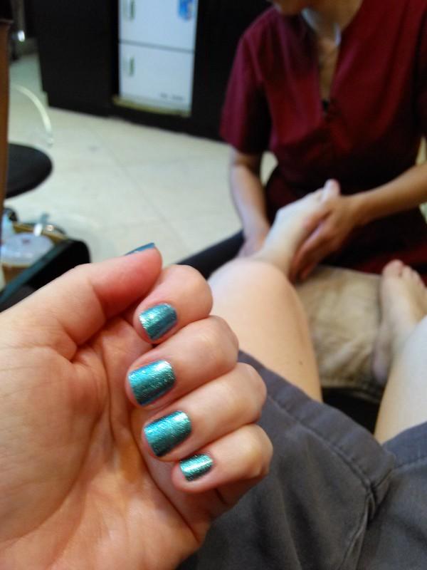 manicure pedicure spa castle texas - opi lacquer polish