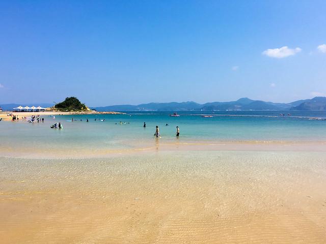 長崎伊王島海水浴場