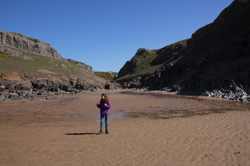 fall bay, gower, mewslade bay, opus camper, pitton cross, Rhossili, Rhossili Beach, Rhossili Down, The Beacon, Worms Head