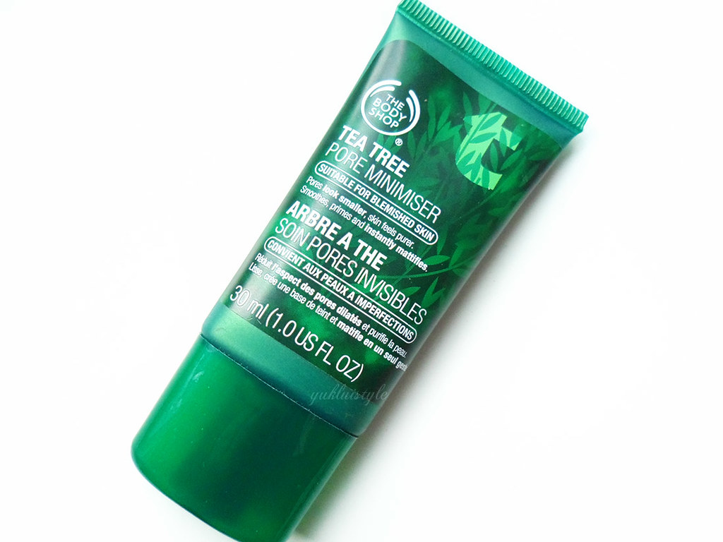The Body Shop Tea Tree Pore Minimiser review and swatch
