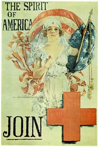 World War II Poster - The Spirit Of America