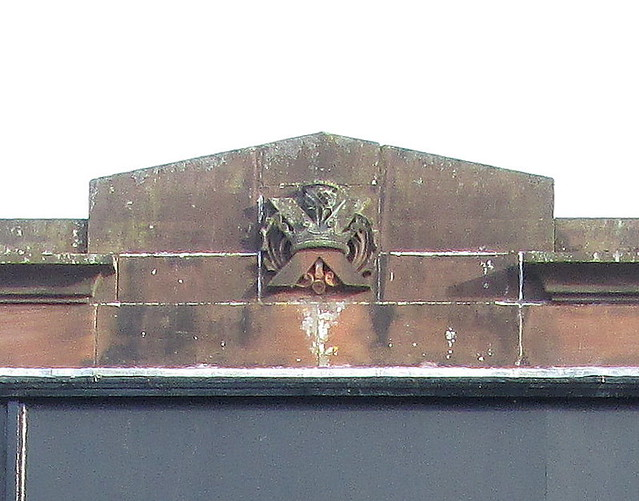 Cartouche on Milngavie Art Deco Shop