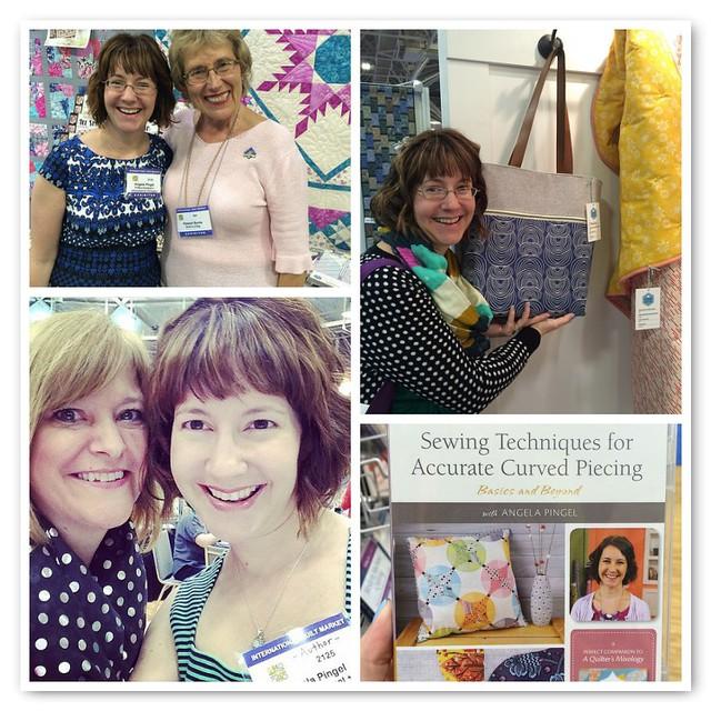 Me at Spring Quilt Market 2015