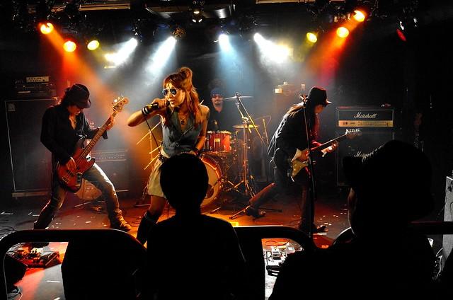 Juz live at 獅子王, Tokyo, 10 May 2015. 438