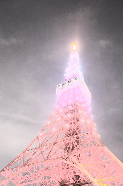 Tokyo Tower Rainbow Diamond Veil 17