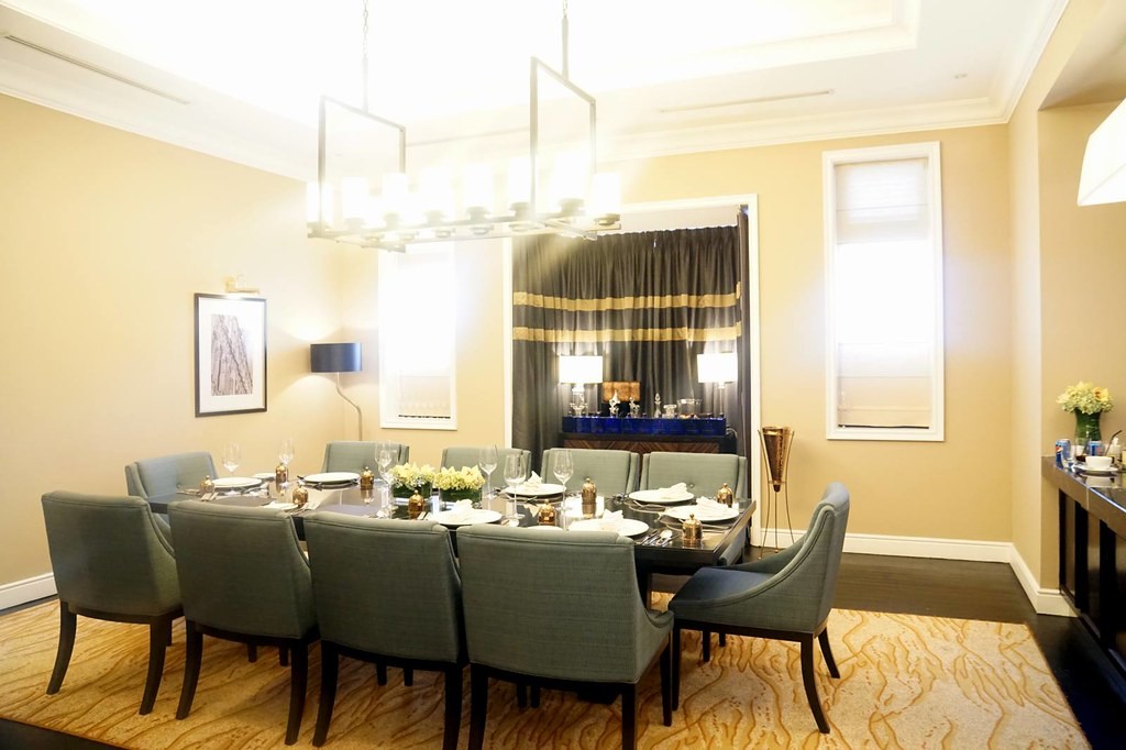 REVIEW stay at Majestic KL - private dining room
