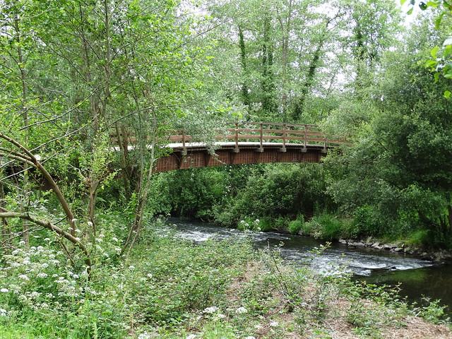 Puente en el Ruta dos Ríos de Cambre