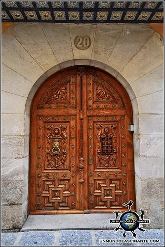 Puerta de las Calles de Coria, Cáceres, Extremadura. España. Spain.