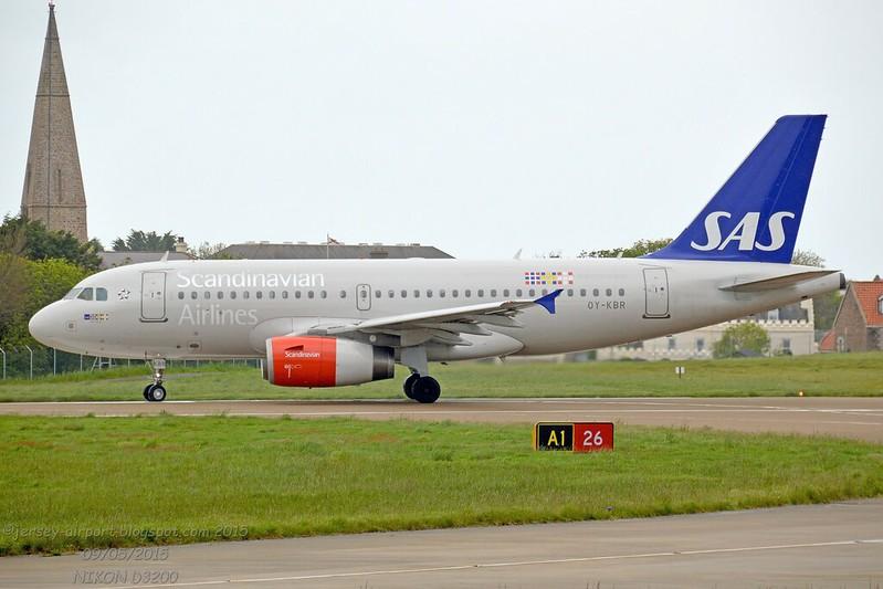 OY-KBR Airbus A319-132