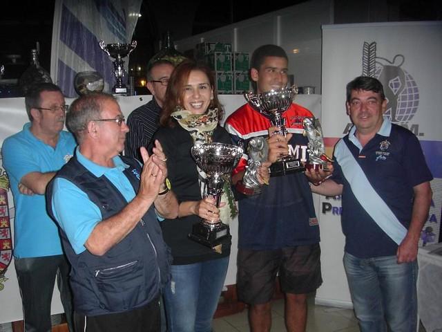 Samira Mizzian ganadora del Vº Campeonato de Pesca