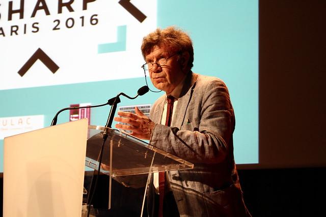 Roger Chartier - SHARP 2016
