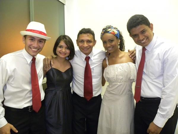 Antônio Franco, Laemir Anjos, Henrique Silva, Marcelle e Rafael