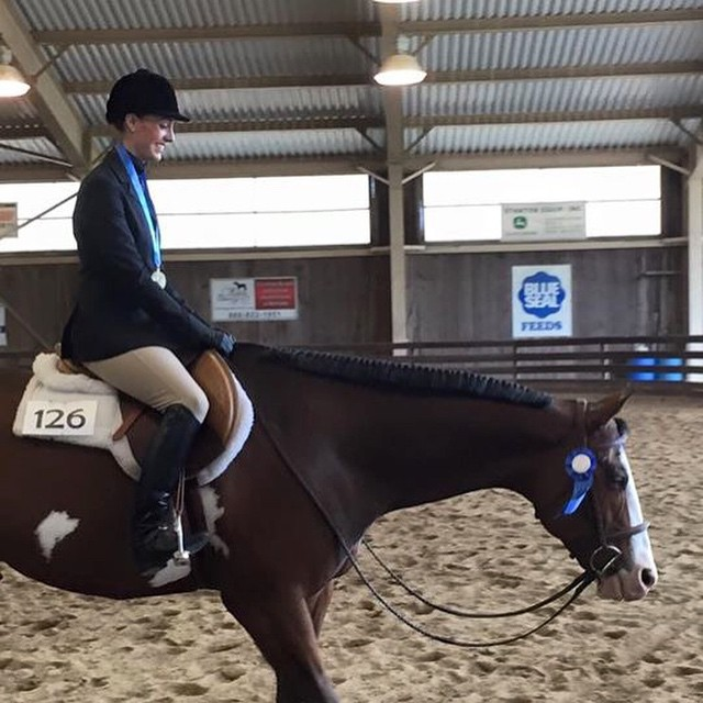 Had an amazing weekend at my first NEPtHA show. Unanimous wins in Hunter Under Saddle, Disciplined Rail, and Horsemanship, the NEHC Hunter medal winner and wins in showmanship and Ideal. Thank you @pmb2691 for letting me be part of the #Krognation team, I