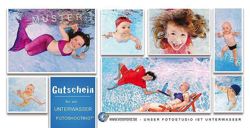 Unterwasser Fotoshooting Guschein