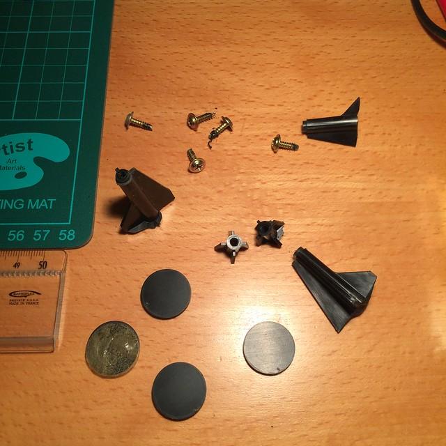 Réparation plastique Controleur Joystick Neo Geo. 17585551136_6f97b96c80_z