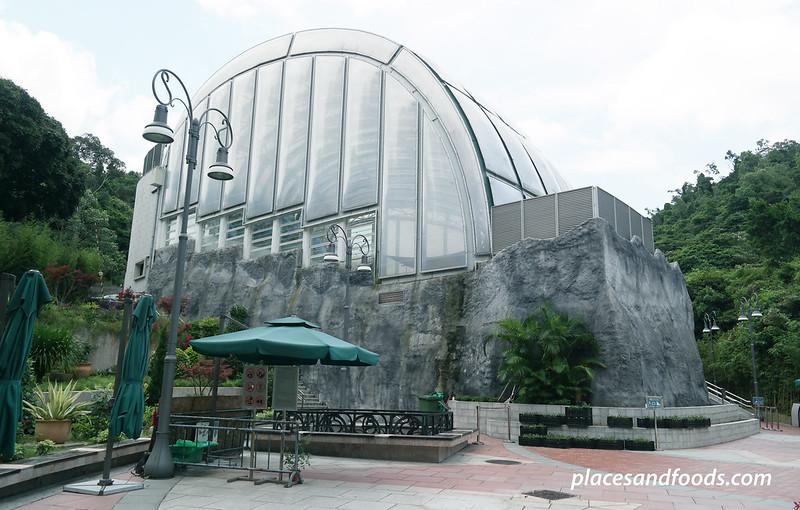 macau giant panda pavilion complex