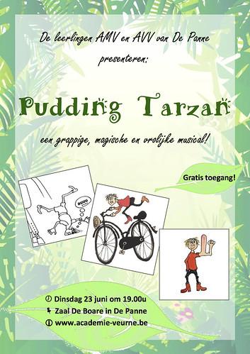 Flyer Pudding Tarzan