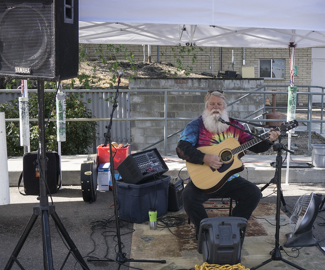 Singer at Prescott Farmers Market