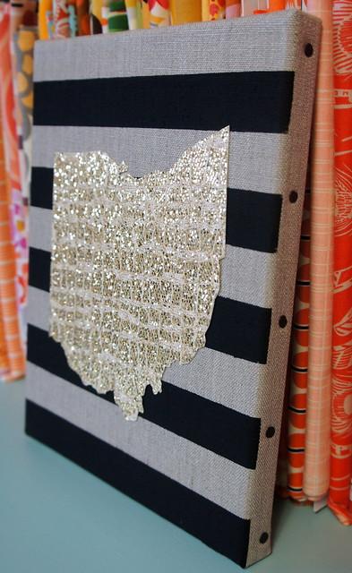 Ohio Striped Canvas