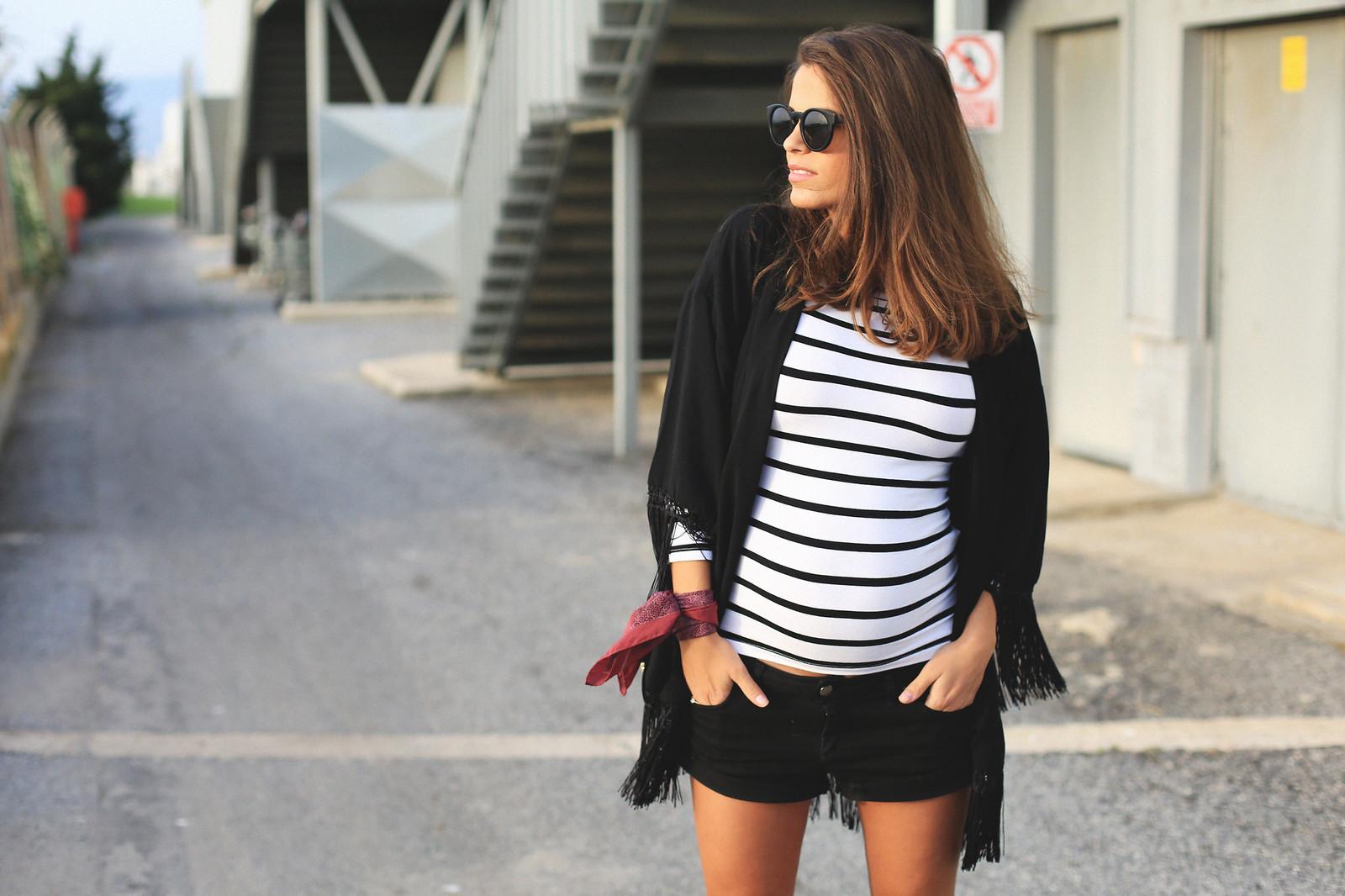 jessie chanes black kimono 1.  jessie chanes seams for a desire black kimono striped top off shoulders 10 3d4802eb27f4