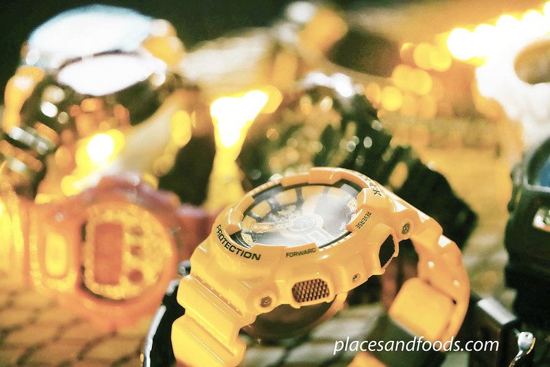 casio gshock yellow thailand