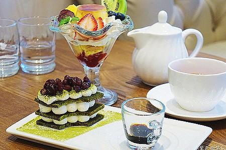 夢甜屋Café Moteur.捷運中山站美食~精緻甜點令人垂涎,輕古典空間迷人舒適