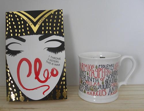Lucy Coats, Cleo & mug