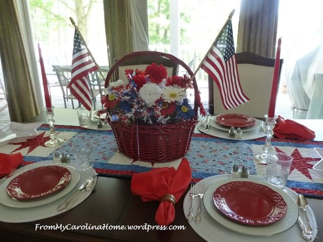 Patriotic Tablescape 3