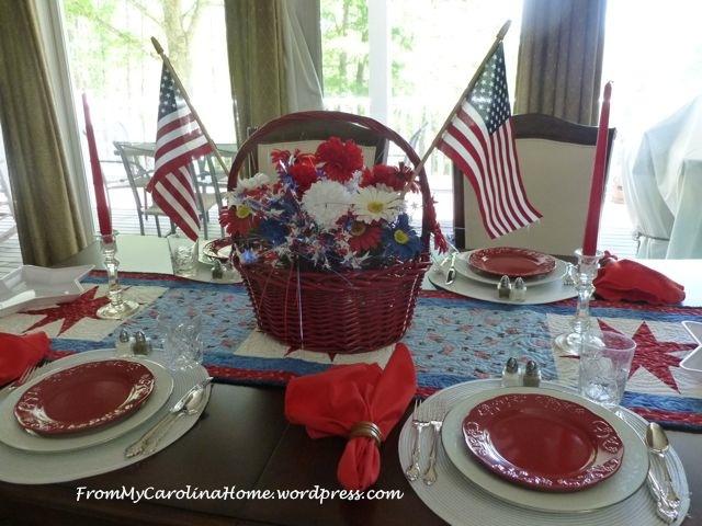 Patriotic Tablescape 3