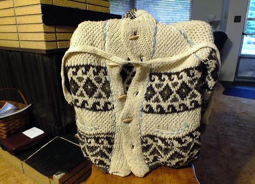 sweater jacket bought in 1969 Berkeley Calif.