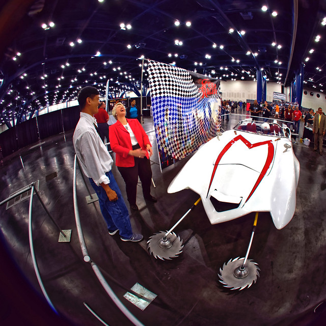 Mayor Annise Parker and The Mach 5