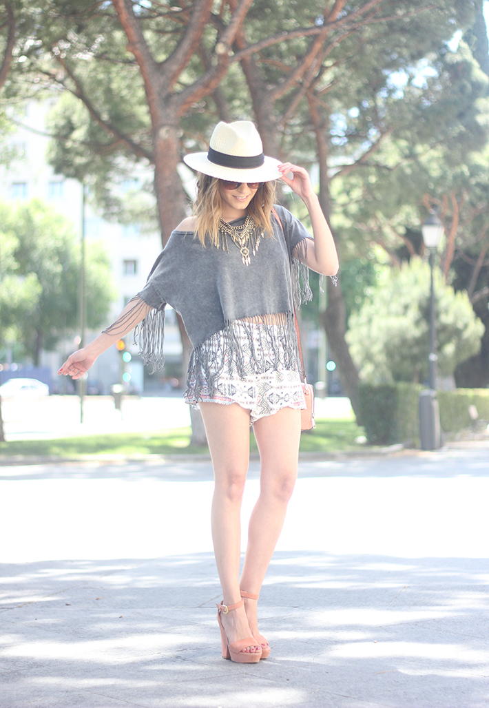 Boho Style Outfit C&A03