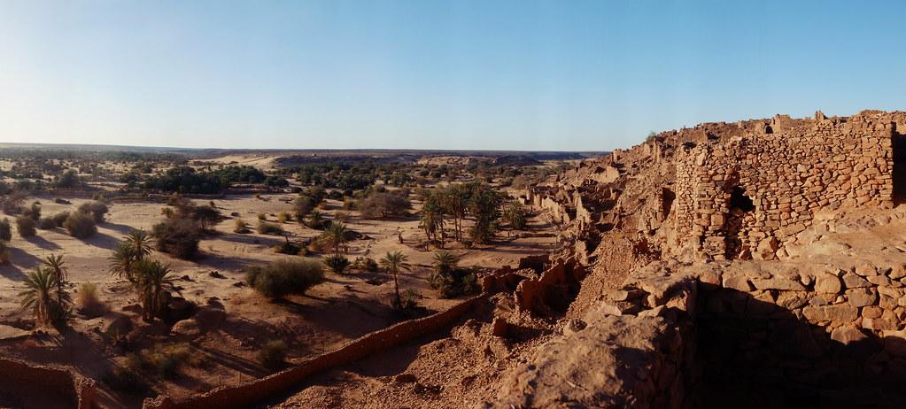 Ouadane Ksar / oasis