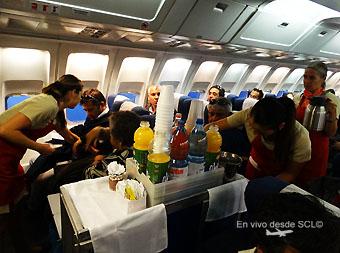 AeroDesierto servicio a bordo (RD)