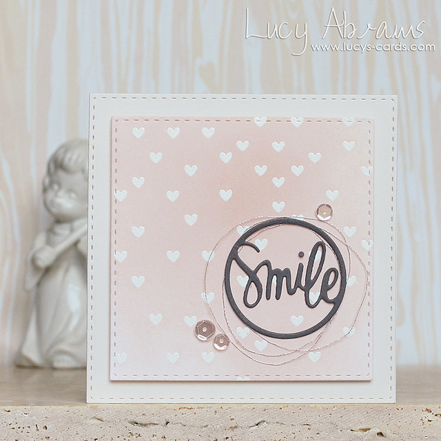 Smile Mini Card by Lucy Abrams