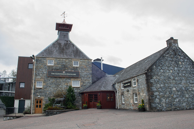 The Glenfiddich Whiskey Distillery