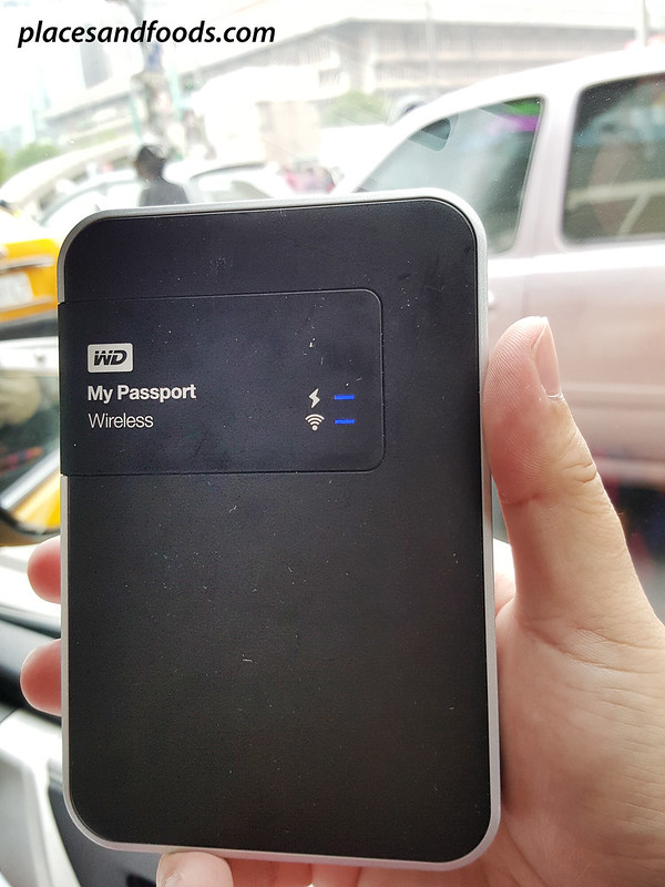 wd mypassport wireless taxi taipei